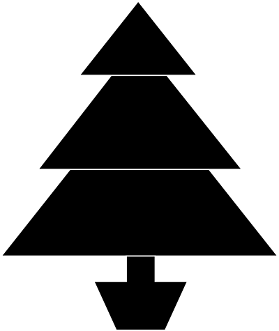 Black Friday|black and white christmas tree clip art free store ...