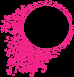 Pink Elegant Frame Clip Art