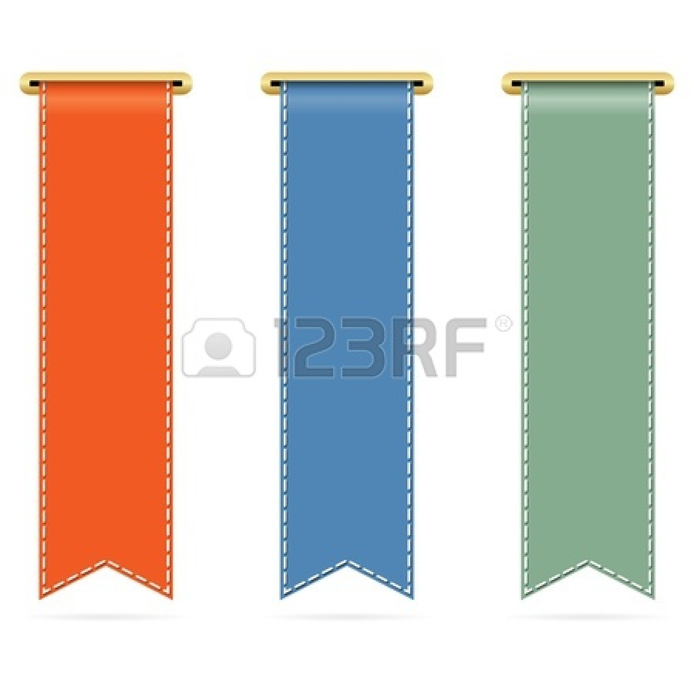 Vertical Ribbon Banner Clipart | Clipart Panda - Free Clipart Images
