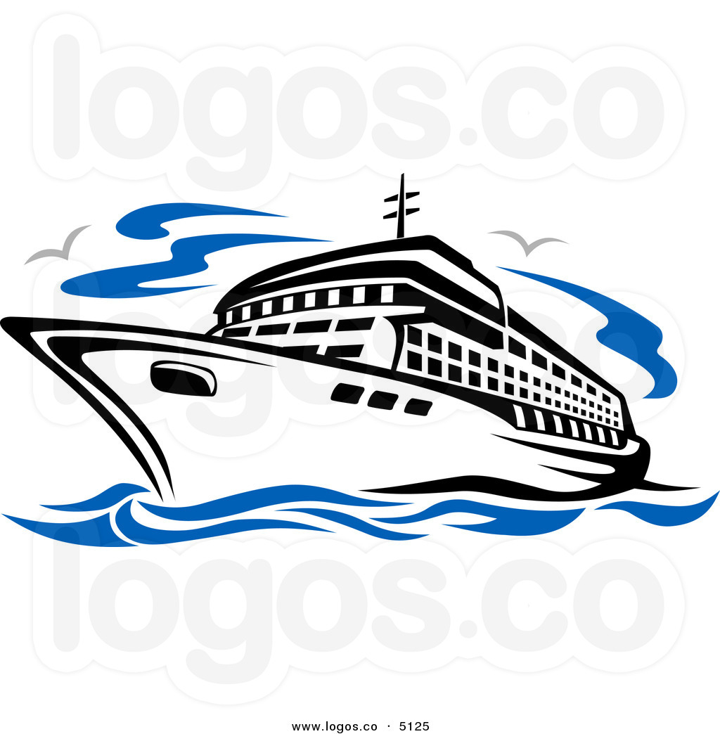 free clip art cartoon cruise ship - photo #7