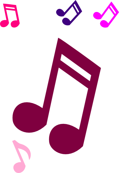 Purple Music Note Clipart | Clipart Panda - Free Clipart Images
