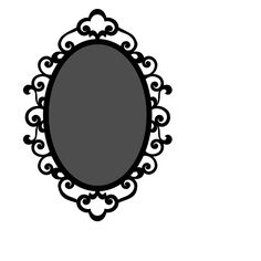 Victorian Oval Frame Clipart | Clipart Panda - Free ...