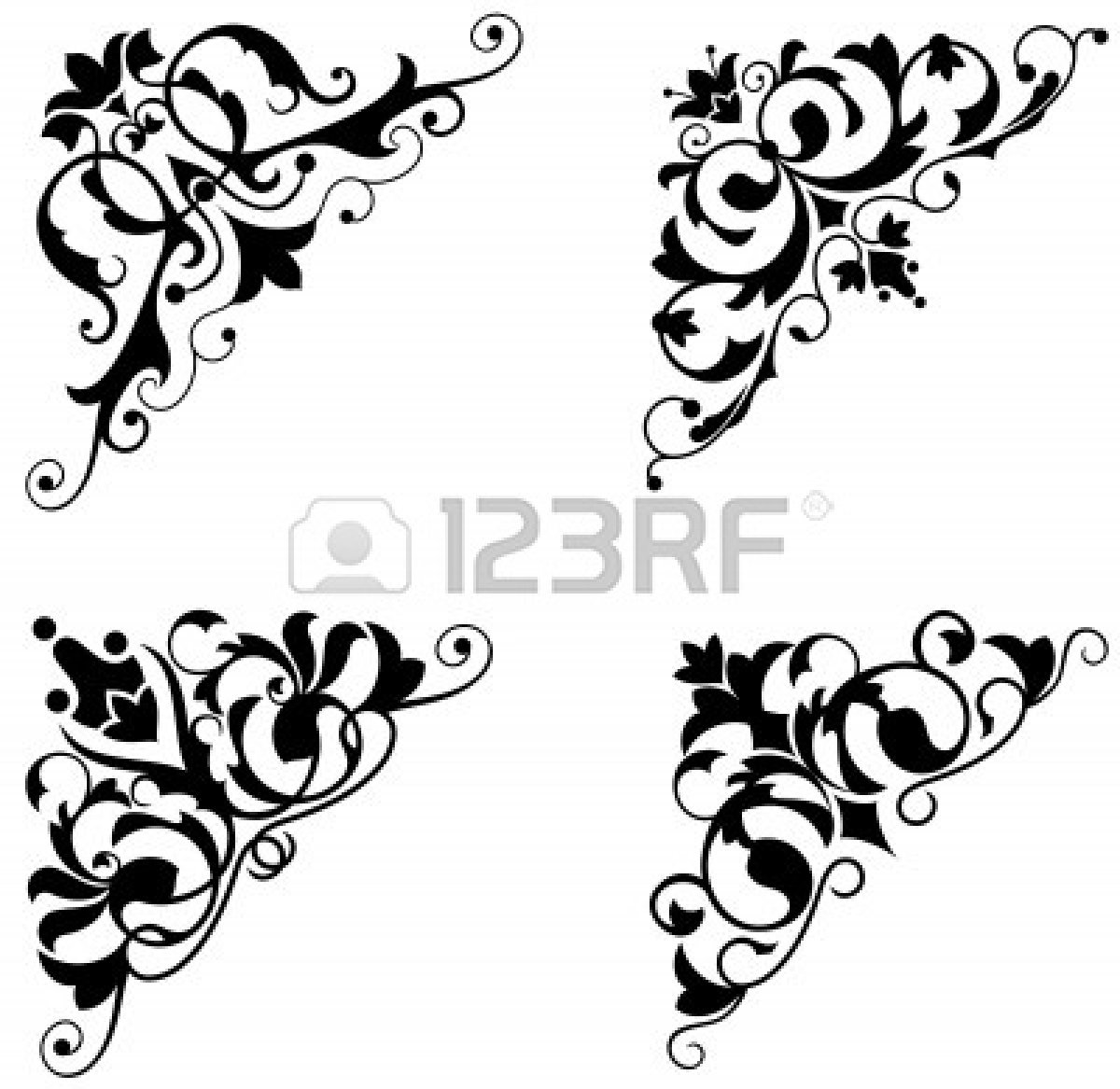 Victorian Design victorian scroll design | clipart panda - free clipart images