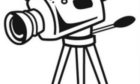 Clip Art Video Camera Clip Art video camera clipart panda free images