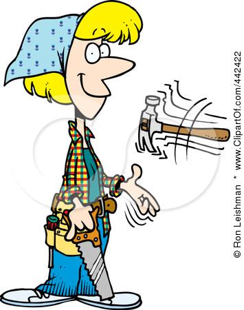 Female carpenter clipart - photo#5