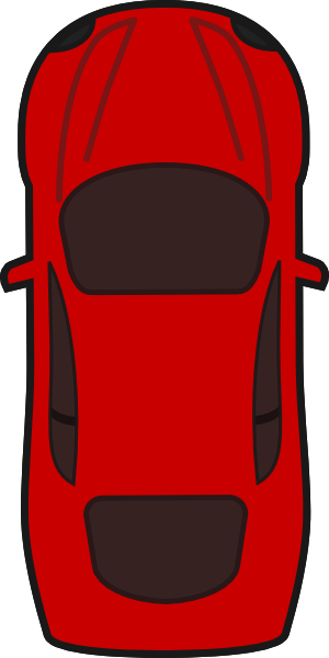 Clip Art Top Of A Race Car