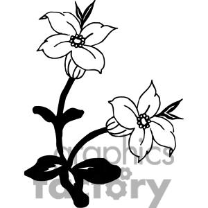 83 Flowers Bw 83 Flowers Bw Clipart Panda Free Clipart Images