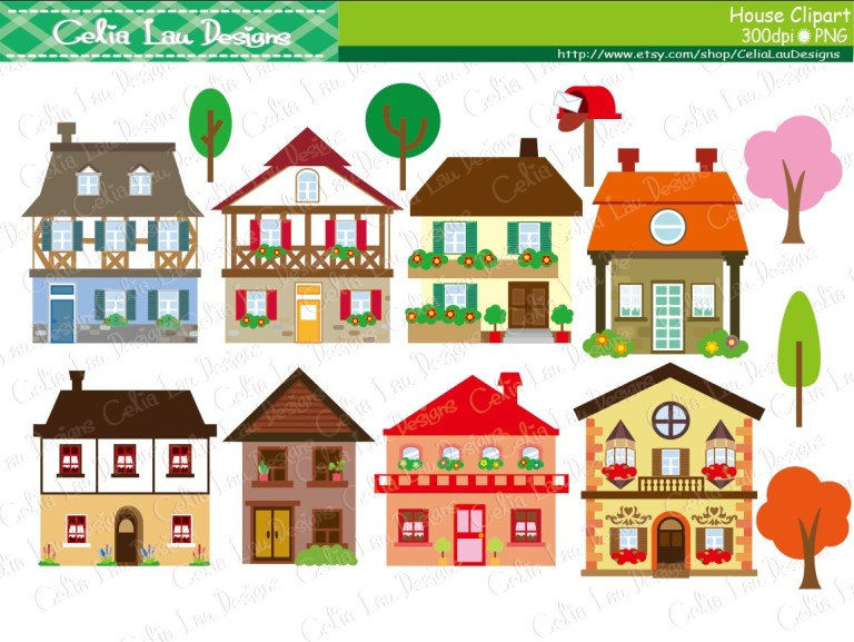 Villages clip art clipart panda free clipart images - Maison jardin senior living community reims ...