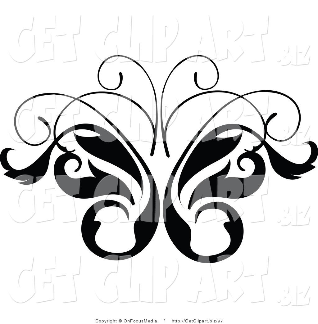 Vine Clipart Black And White | Clipart Panda - Free ...