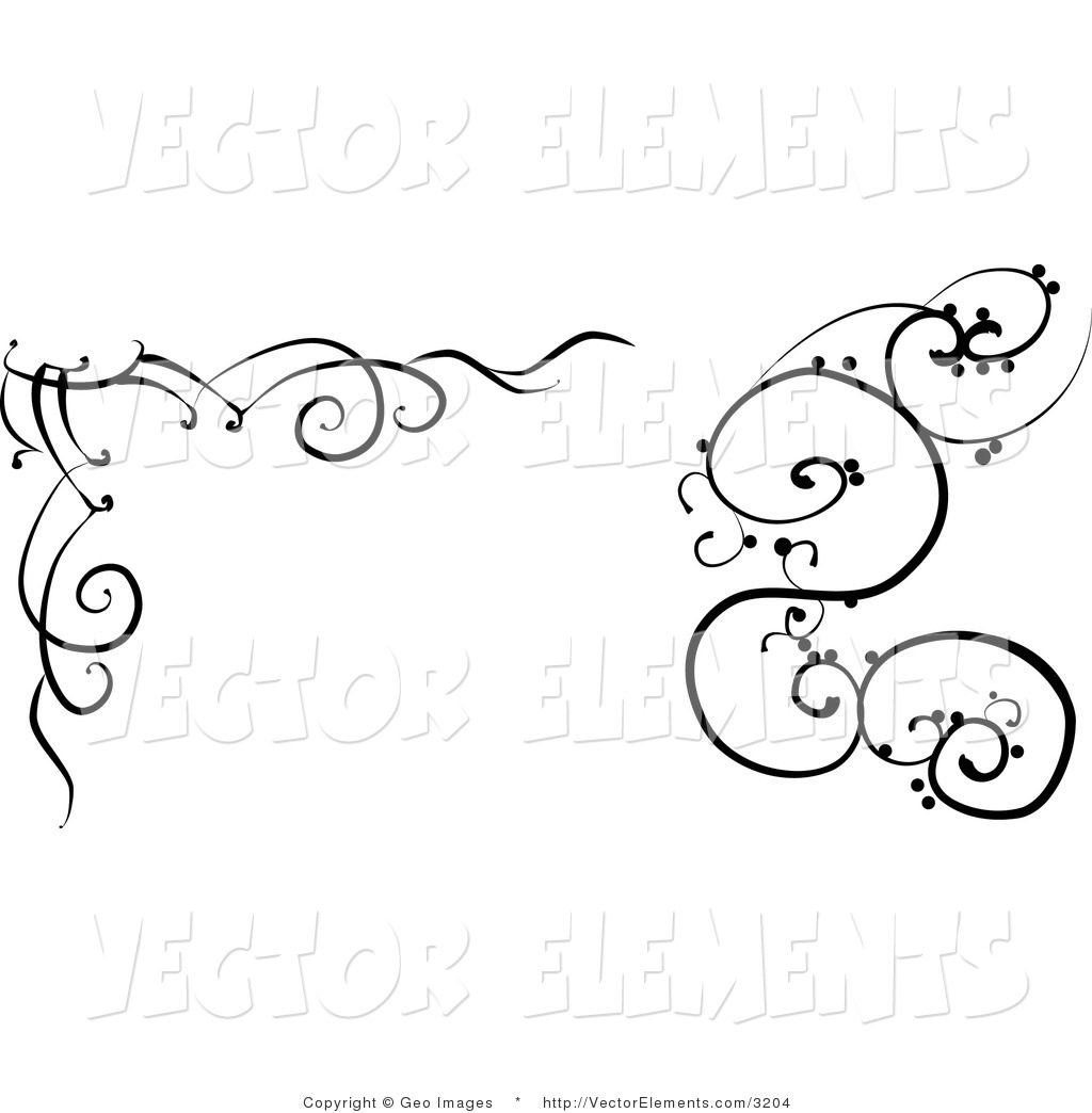 Vine clipart black and white clipart panda free clipart images - Any design using black and white ...