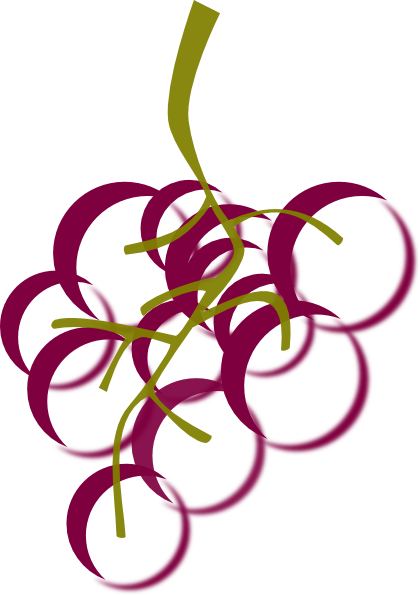 Wine Grapes Clip Art Purple | Clipart Panda - Free Clipart ...