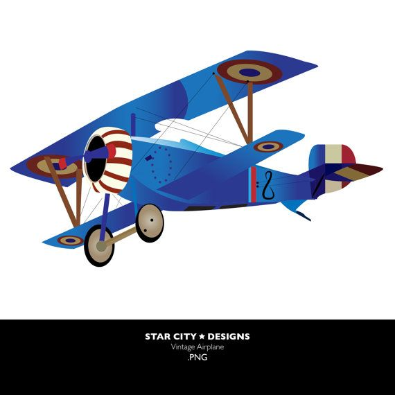 Vintage Airplane Clipart | Clipart Panda - Free Clipart Images