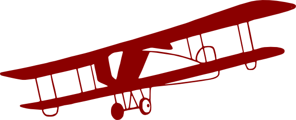 Red Vintage Airplane Clipart | Clipart Panda - Free Clipart Images