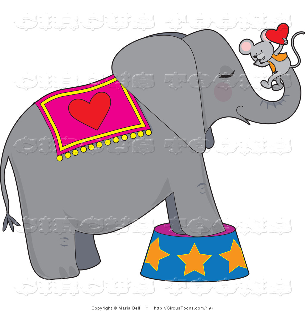 Vintage Circus Elephant On Ball | Clipart Panda - Free Clipart Images
