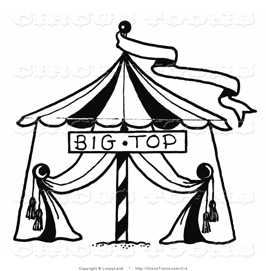 circus banner coloring pages - photo#28