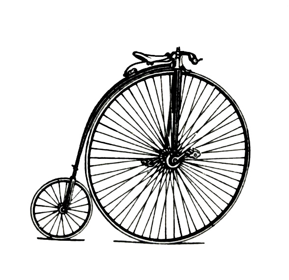 Images Of Old Fashioned Bikes