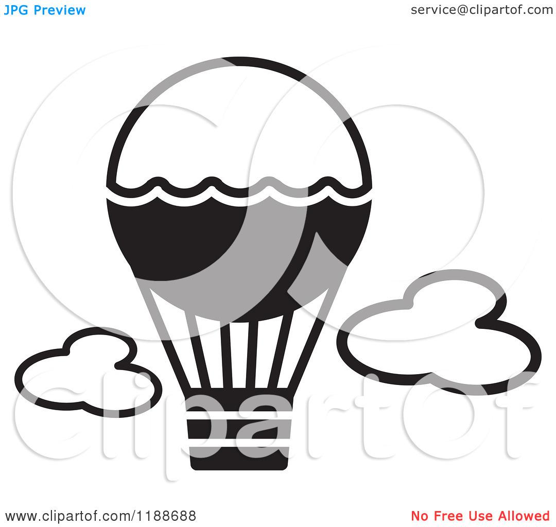 Vintage Hot Air Balloon Coloring Page | Clipart Panda - Free Clipart ...