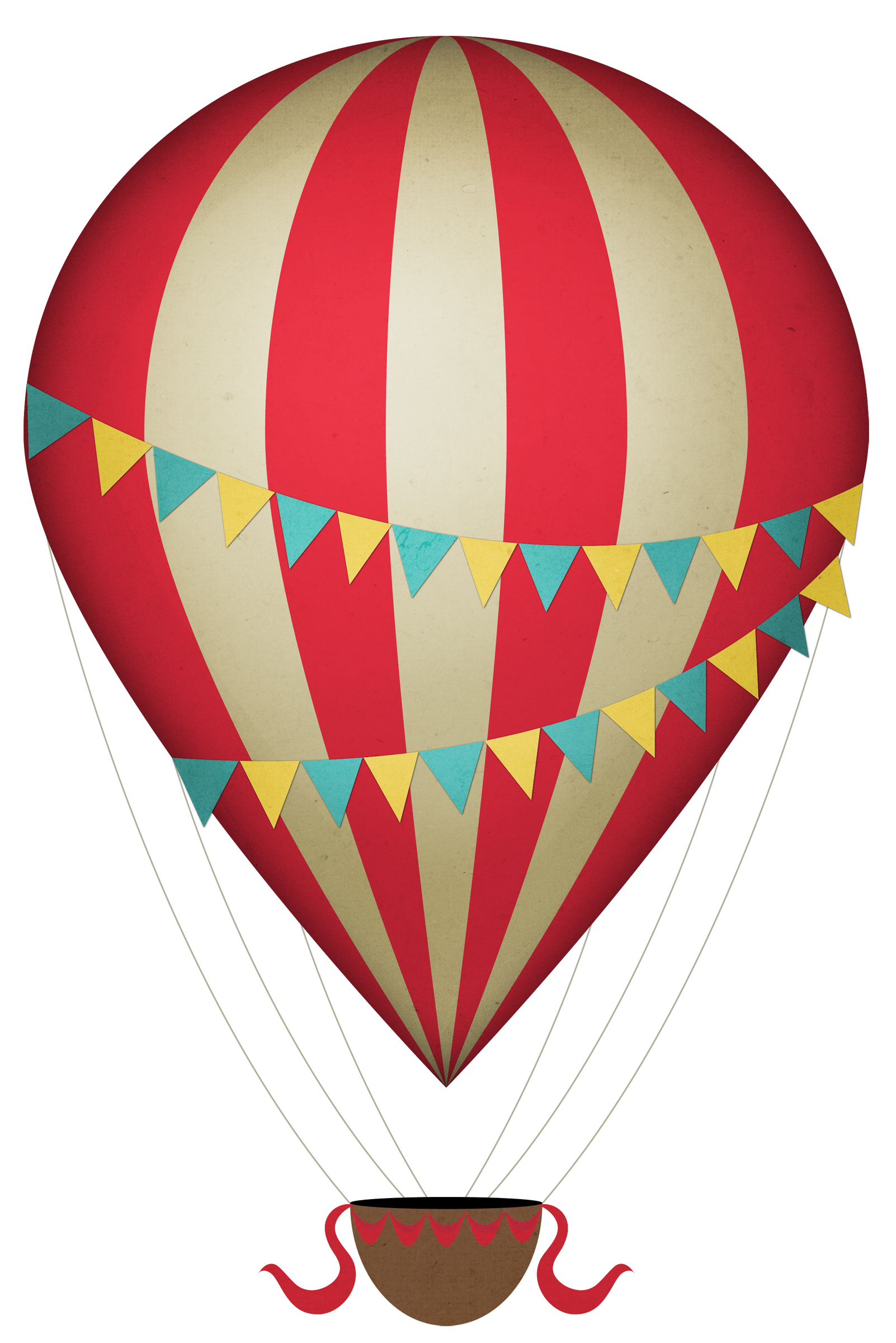 Vintage Hot Air Balloon Clipart | Clipart Panda - Free ...