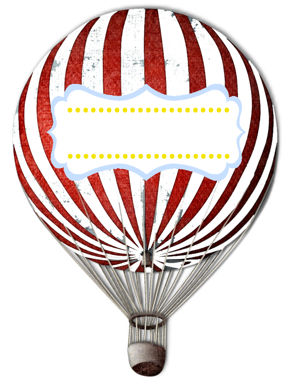 Vintage Hot Air Balloon Vector | Clipart Panda - Free ...