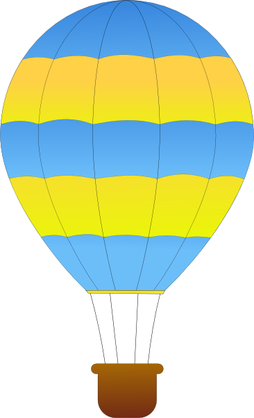 Hot air balloon clip art outline clipart panda free clipart images
