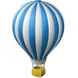 Hot Air Balloon Icon 256x256 Clipart Panda Free Clipart Images