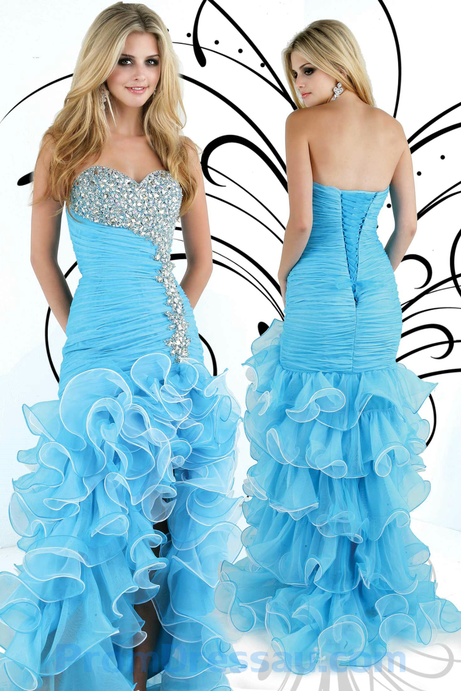 Mermaid style prom dresses for cheap – Dress blog Edin