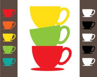 Clip Art Tea Coffee