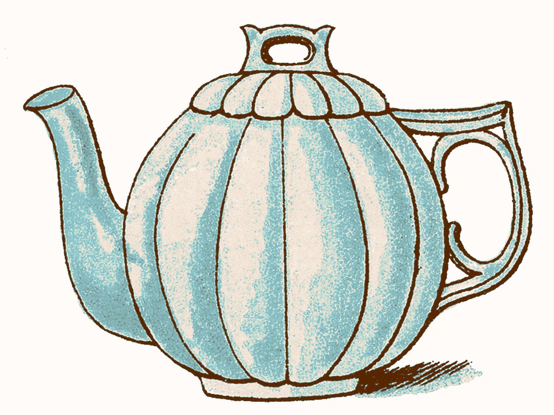 Vintage Teacup Clipart | Clipart Panda - Free Clipart Images