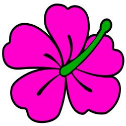 hawaiian flower clip art borders clipart panda free clipart images rh clipartpanda com hawaiian flower clip art free images hawaiian flower clipart black and white