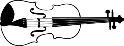 Violin B And W Clip Art Clipart Panda Free Clipart Images