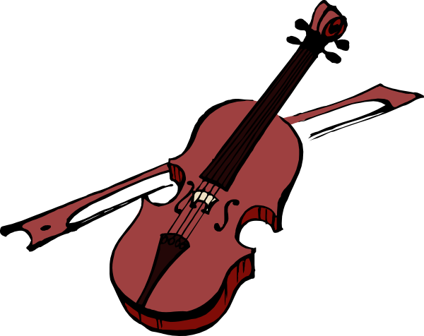 Violin Clipart Black And White | Clipart Panda - Free Clipart Images