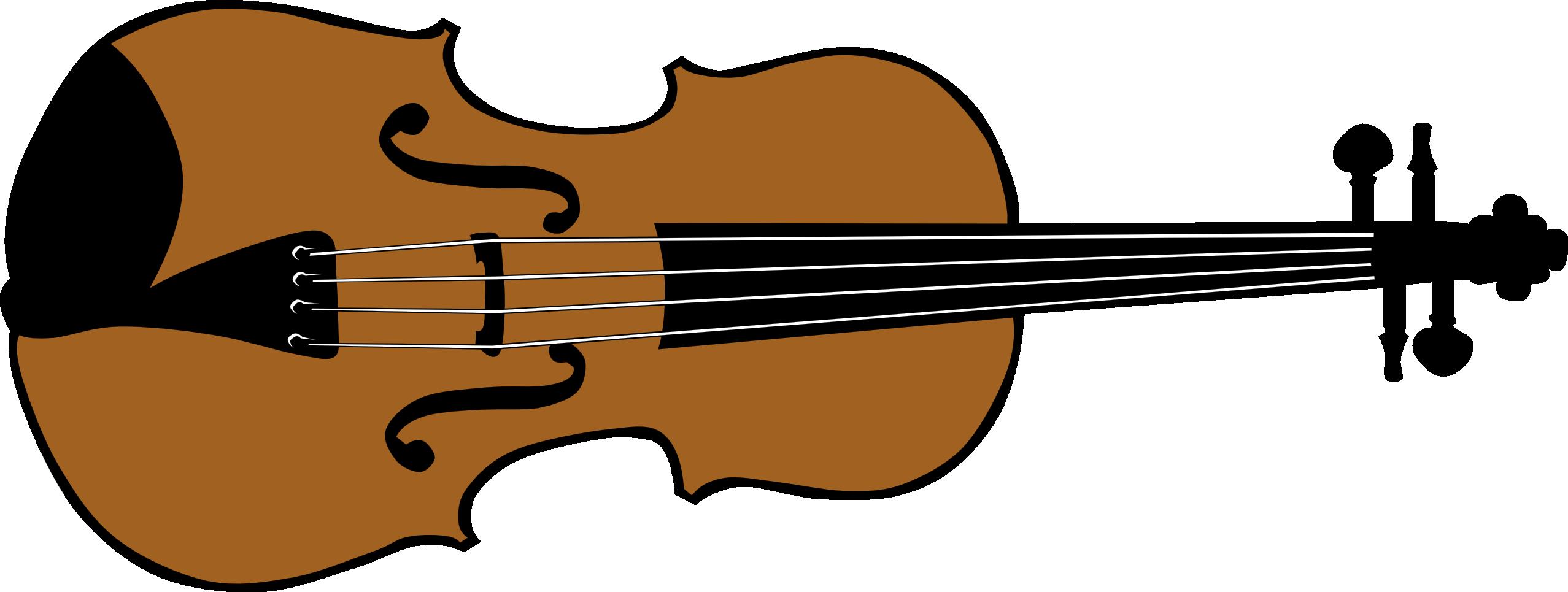 Violin Clipart Black White Panda