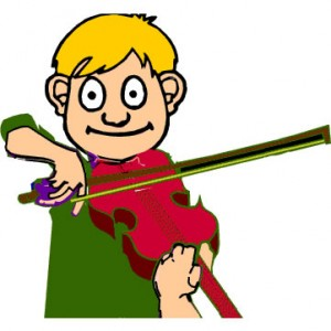 how to play happier on the violin