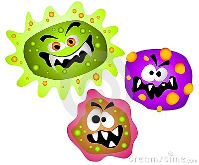 Virus clipart germs viruses bacteria clipart 3131773