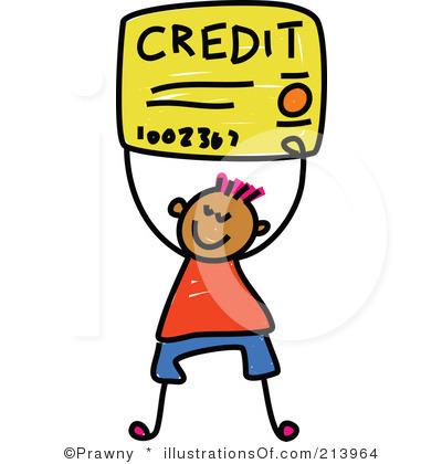 Visa Credit Card Clipart