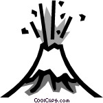 Volcanoes Vector Clip art | Clipart Panda - Free Clipart Images