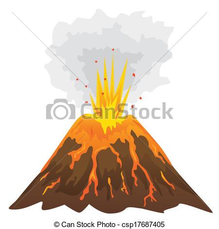 Clip Art Clipart Volcano volcano clip art free clipart panda images art