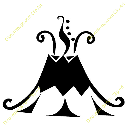 Volcano Clipart Black And White | Clipart Panda - Free Clipart Images