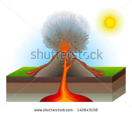Clip Art Of Volcano Diagram Trusted Wiring Diagram