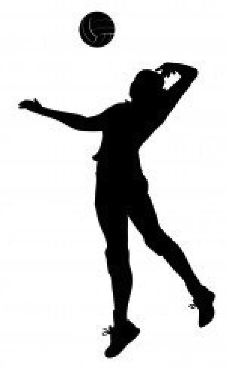 Female Volleyball Player Clipart | Clipart Panda - Free ...