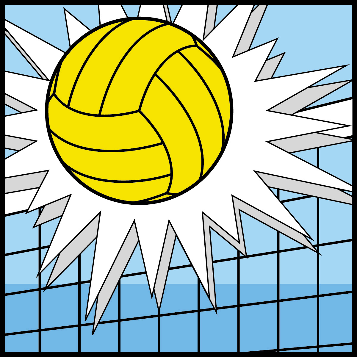 Volleyball clip art images free clipart panda free for Free online drawing