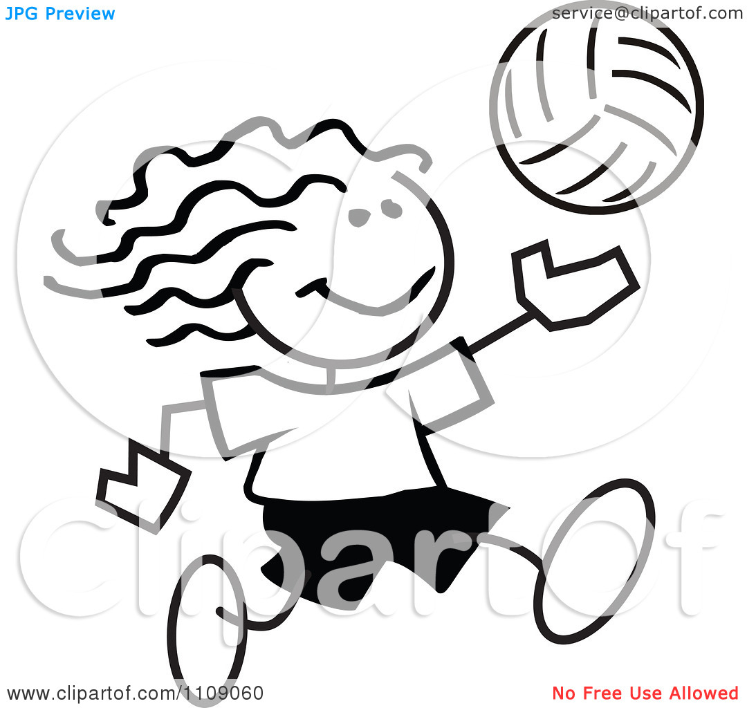 volleyball%20clipart%20black%20and%20white