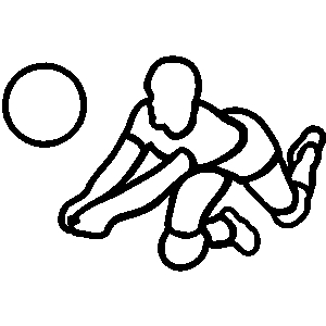 Volleyball Dig Clipart Clipart Panda Free Clipart Images