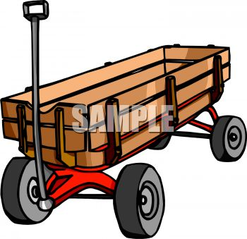 Wooden Sided Wagon | Clipart Panda - Free Clipart Images