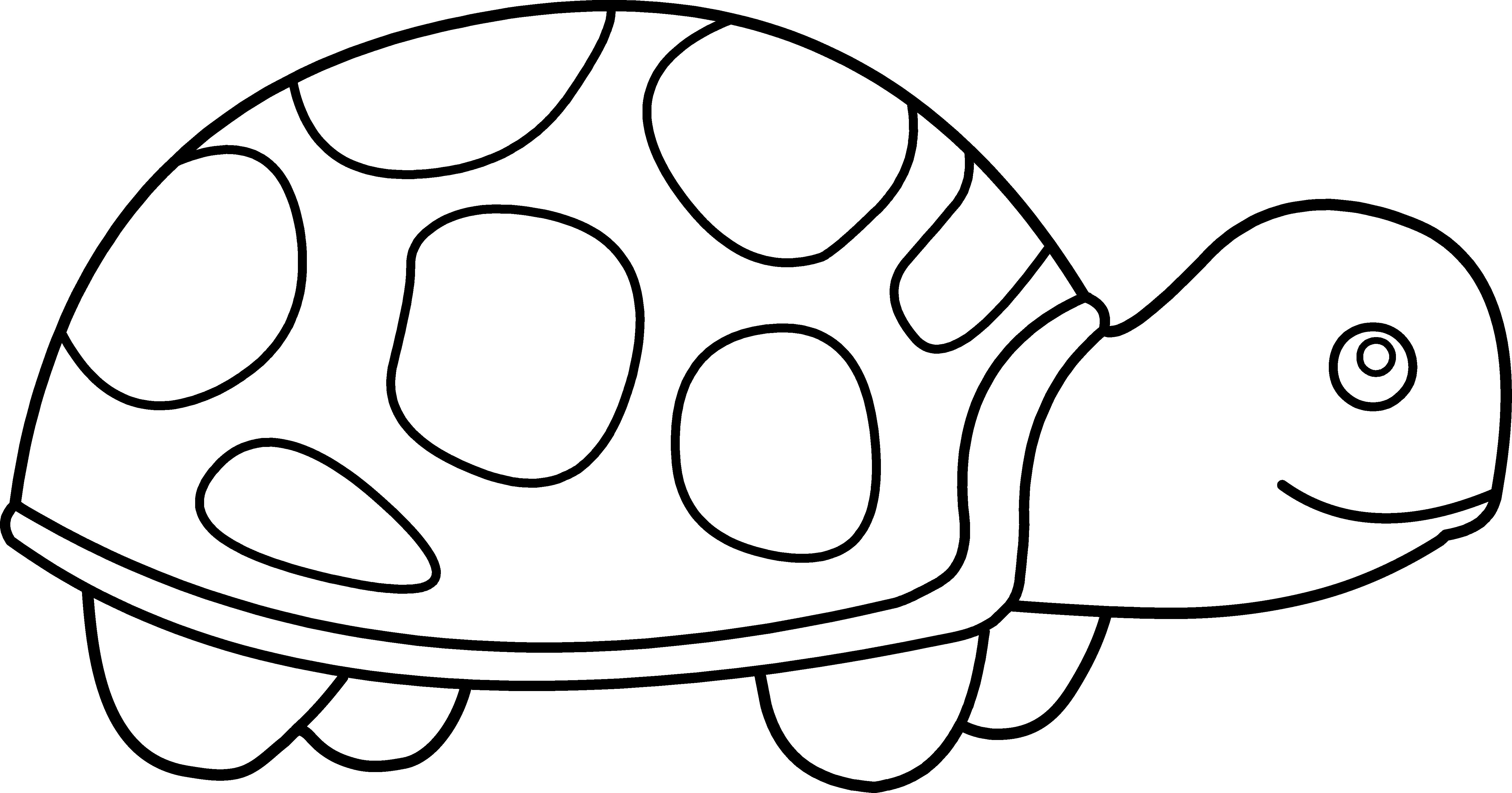 Line Art Turtle : Wagon clipart black and white panda free