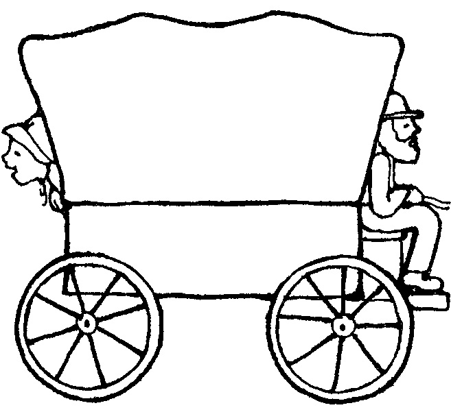 Covered wagon clipart | Clipart Panda - Free Clipart Images