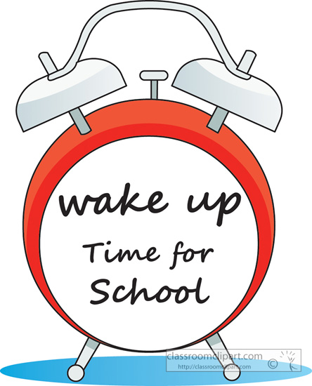 Image result for wake up for school
