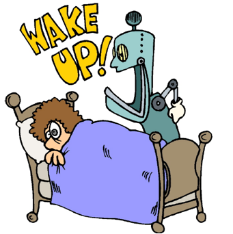 Use these free images for your websites  art projects  reports  and    Clipart Boy Waking Up In The Morning
