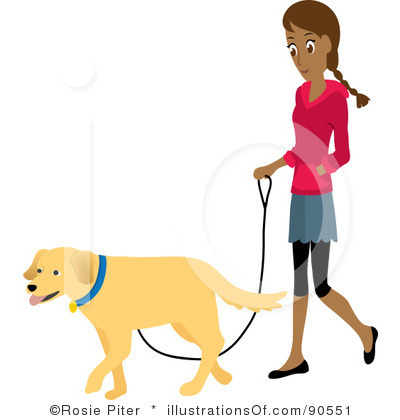 Free Dog Walker Clipart