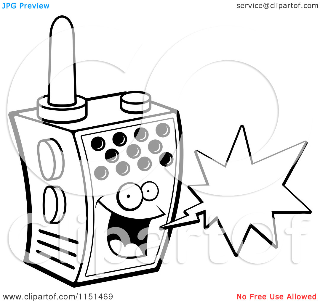 police walkie talkie coloring pages coloring pages